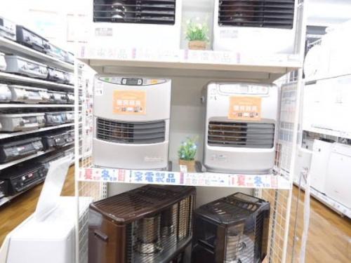 暖房の冬物家電