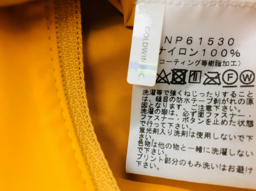 ドットショットジャケットのノースフェイス