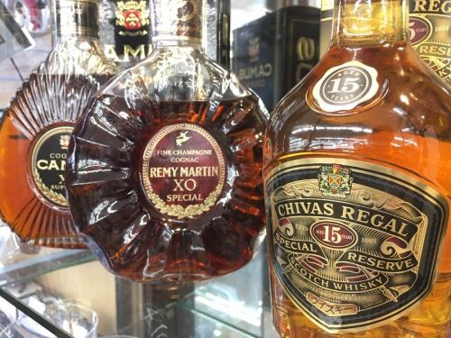 ブランデーのウイスキー