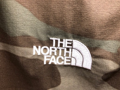 THE NORTH FACEのカモフラ 迷彩