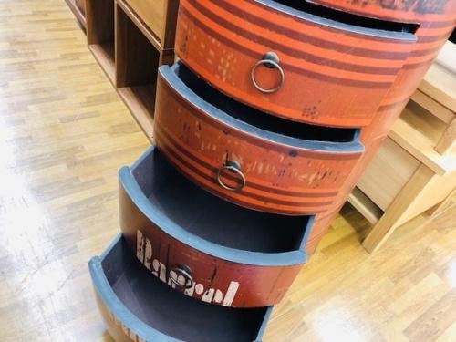 ドラム缶型の4段