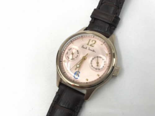 腕時計 買取 中古のポールスミス 買取 未使用