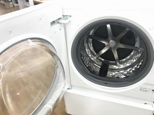 ドラム式洗濯機 中古のパナソインック cuble キューブル