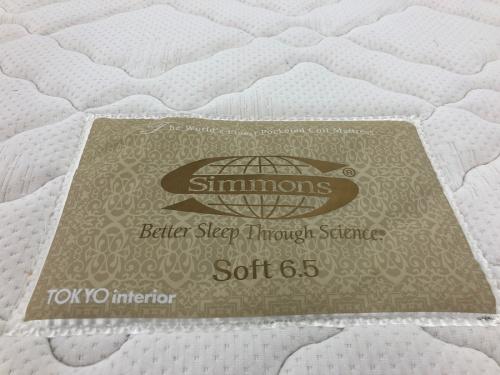 シングルベッドのSimmons
