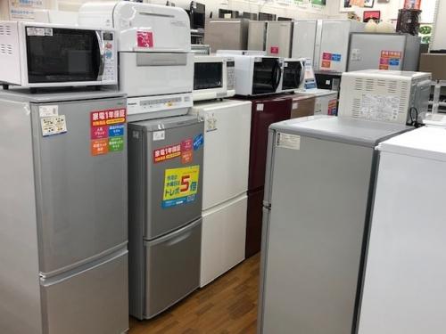 冷蔵庫の白モノ
