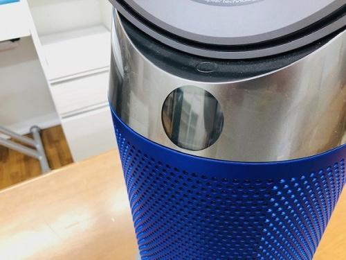 ヒーターの空気清浄機能付ファンヒーター