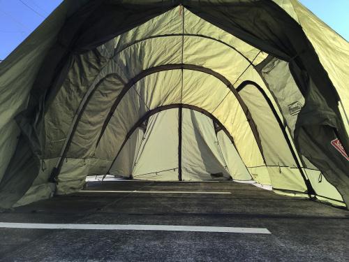 コールマンの幕張 キャンプ用品