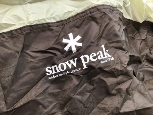 スノーピークの幕張 キャンプ用品