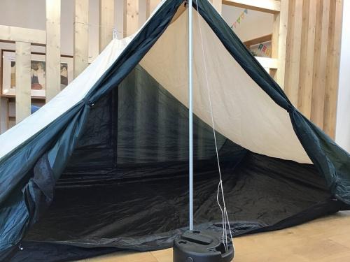 キャンプ用品のノルディスク