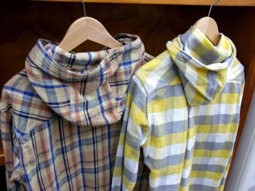 春物のシャツ