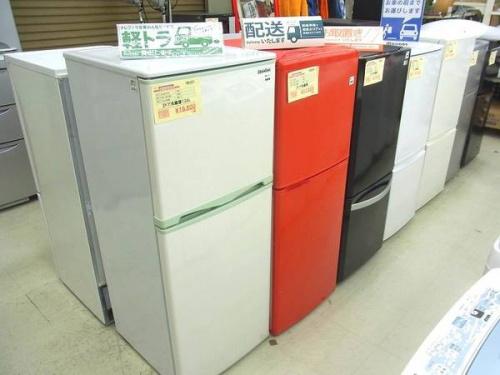 冷蔵庫・洗濯機の新生活