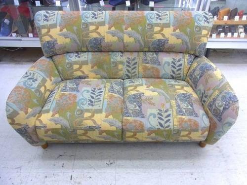 家具・インテリアの2人掛けソファー