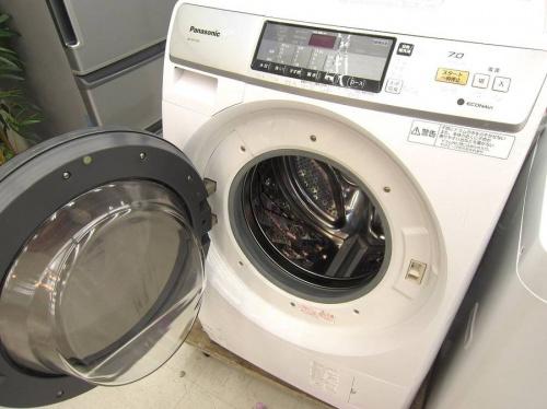 ドラム洗濯機の冷蔵庫
