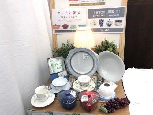 ティーポットセットの横浜 中古 食器