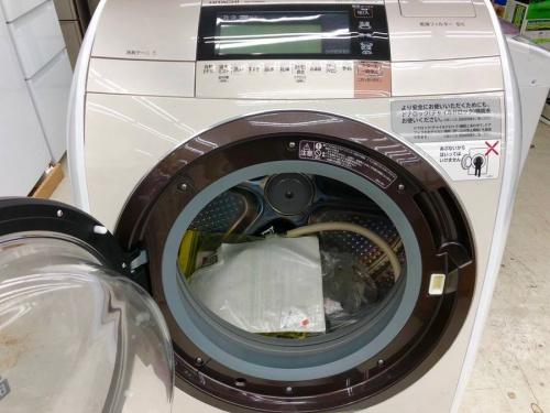 ドラム式洗濯乾燥機の日立