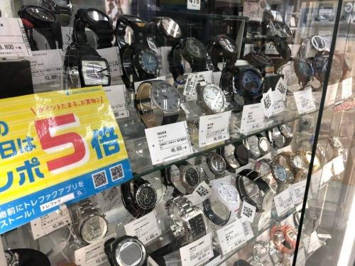 オシアナスの横浜 中古 腕時計