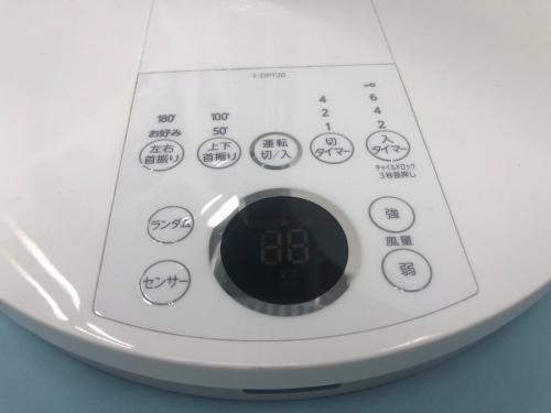 TOSHIBAの扇風機