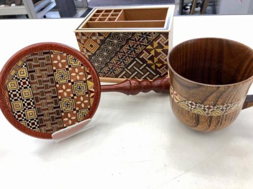 雑貨の寄木細工
