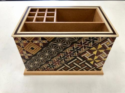 寄木細工の民芸品