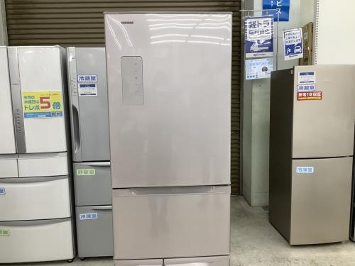 生活家電の大型冷蔵庫