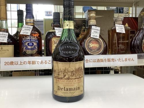 デラマンのウィスキー