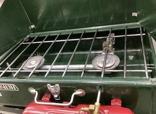 アウトドア用品のガソリンバーナー