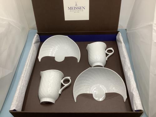 MEISSENのカップ&ソーサー
