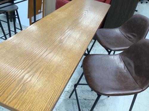 家具のカウンターテーブルセットダイニングセット