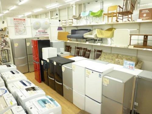 MITSUBISHIの松原店 冷蔵庫