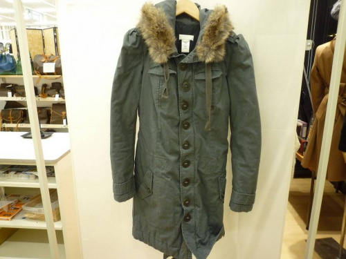 コートの衣類