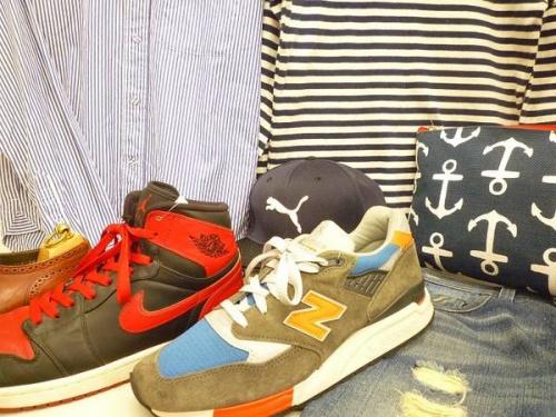 スニーカーの松原 衣類