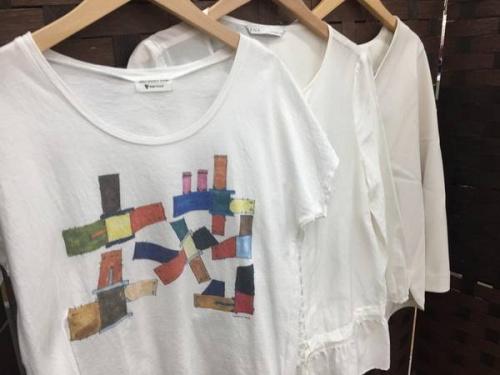 レディースファッションのホワイト