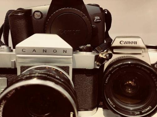 昭和レトロのフィルムカメラ