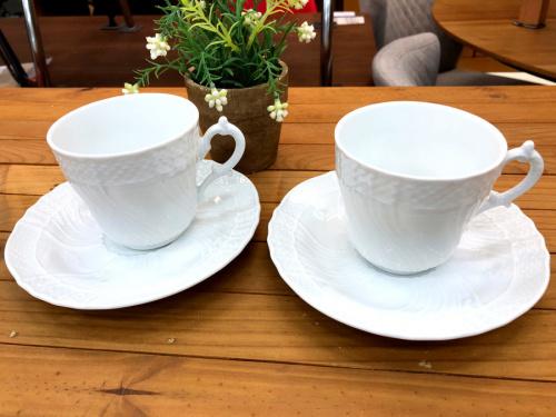 洋食器 ジノリのカップ&ソーサー