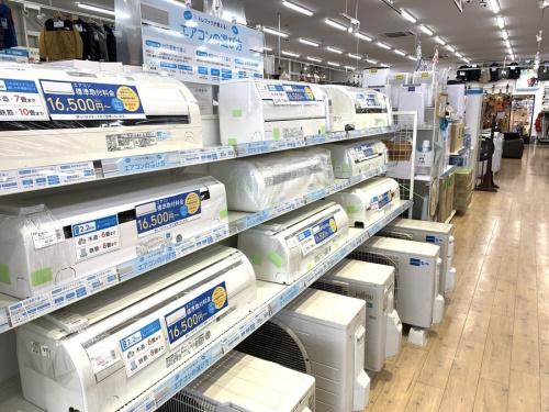 生活家電のエアコン 国内メーカー 大阪