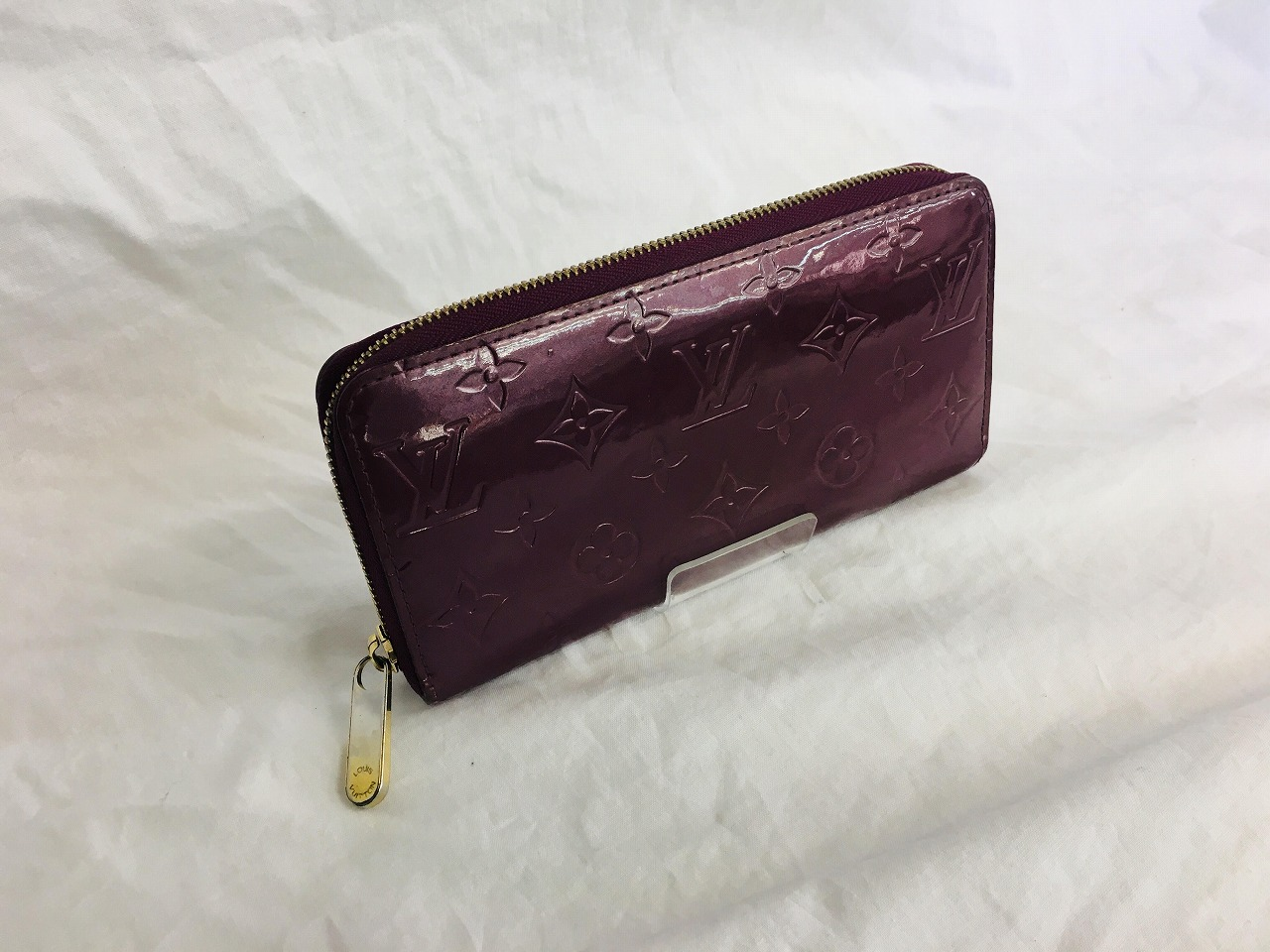 new concept 3e1b2 f54db LOUIS VUITTON(ルイヴィトン)ヴェルニの長財布展示販売中 ...