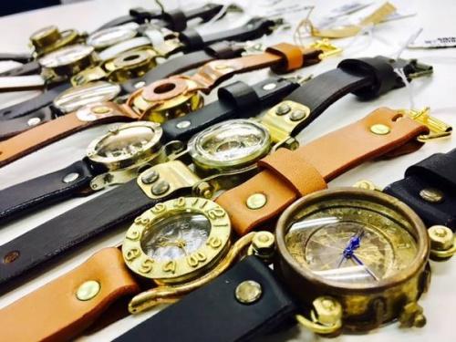 腕時計のハンドメイド