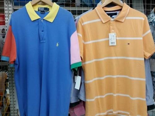 ポロシャツのアロハシャツ