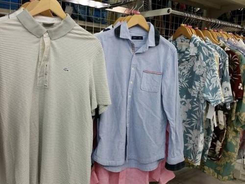 アロハシャツの夏物衣類