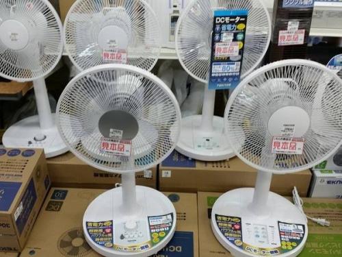 エアコンの扇風機
