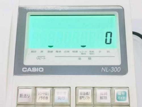 レジスターのカシオ(CASIO)