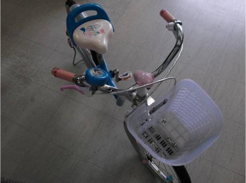 子供用自転車のアナと雪の女王