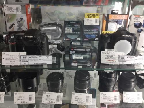 レコーダーのカメラ