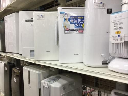 生活家電の除湿器