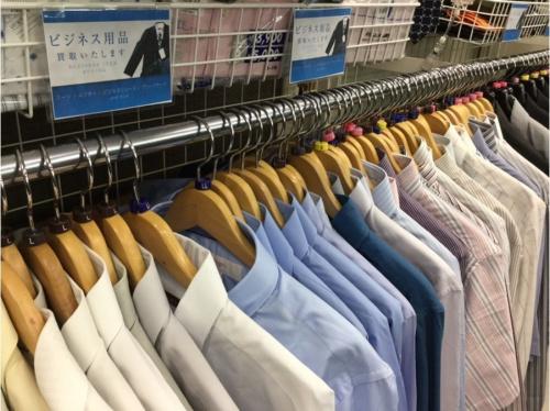 ビジネスシューズのスーツ