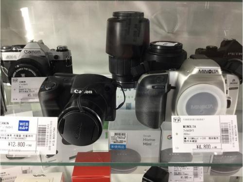 コンパクトカメラのビデオカメラ