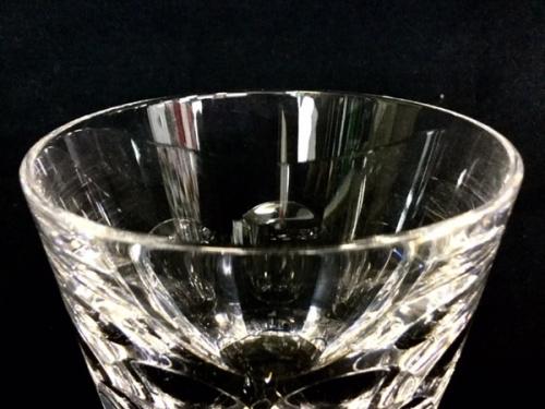 ワイングラスのBaccarat