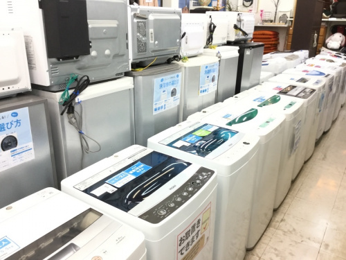家電買取の洗濯機