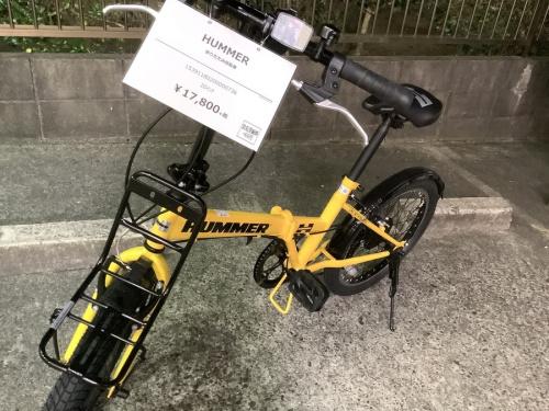 折りたたみ自転車のマウンテンバイク