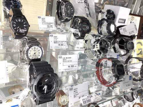 腕時計のCASIO